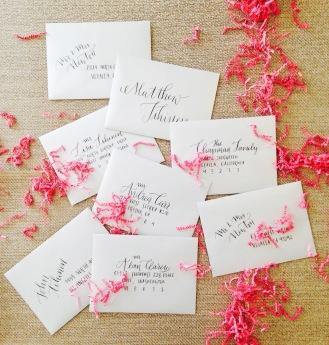 Wedding Addressing 1