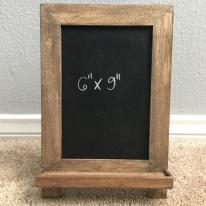 easel - small framed