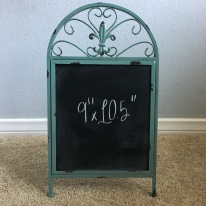 easel - small green