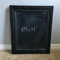 framed - black