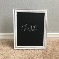 framed - standing white